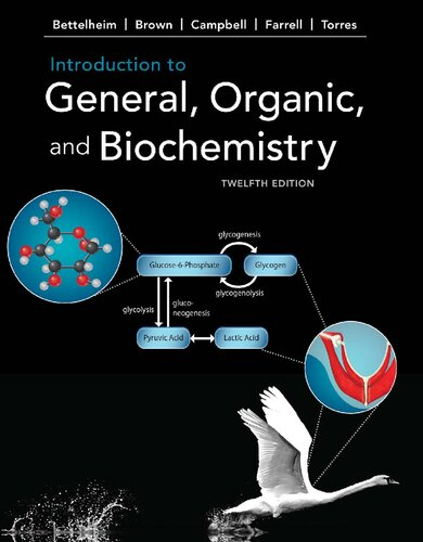 Introduction to general, organic, and biochemistry 12th edition