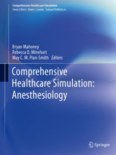 Comprehensive Healthcare Simulation: Anesthesiology