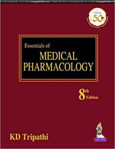 Essentials of Medical Pharmacology 6th edition