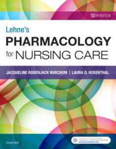 Lehne's Pharmacology for Nursing Care 10th edition